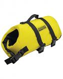 Seachoice Dog Life Vest Yellow Nylon sizes XXS thru XL