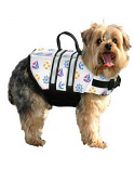 Paws Aboard Nautical Design Small Nylon Dog Vest