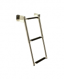 Seachoice Telescoping Transom Mount Ladder