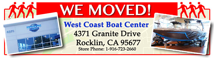 Water Ski World and the West Coast Boat Center New Location