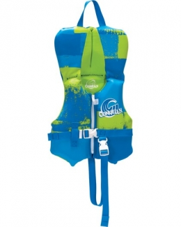 Connelly Boys Infant Neoprene Life Jacket baby 0-30 lbs Blue