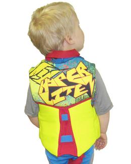 Hyperlite Boys Child Neoprene Life Vest Flex Back