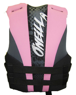Oneill Youth Girls Neoprene Life Jacket Back
