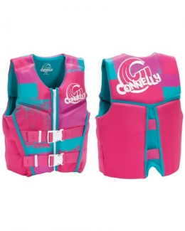 2015 Connelly Youth Neoprene Life Vest Front and Back