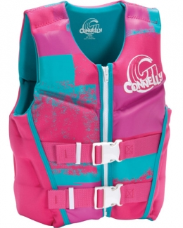 Connelly Girls Youth Neoprene Life Vest Flex Back