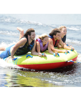 HO Sports Sunset 4 Person Tube Action