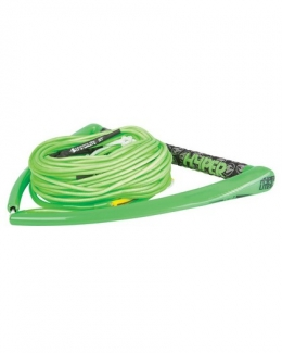 "Hyperlite 15"" Team Handle w/ 70' X-Line Package Green"