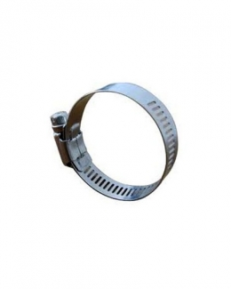"""316 SS Worm Drive Hose Clamp15/16"""" to 1.5"""" Clamp Range"""
