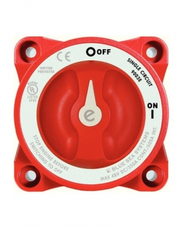 Blue Sea E Series Battery Switch On/Off