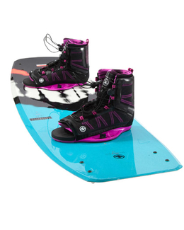 Hyperlite Prizm Womens Wakeboard with Syn boots 2017