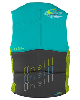 Oneill Outlaw Womens Competition Vest Back
