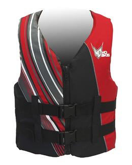 HO Infinite Oversized Men's Nylon Life Vest Red 3XL 4XL 5XL
