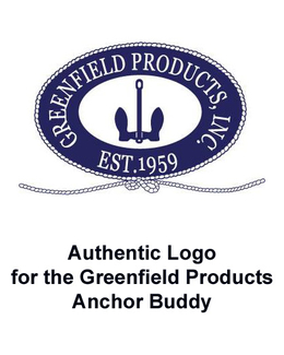 Authentic Logo for the Greenfield Products Anchor Buddy