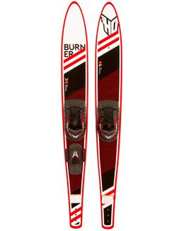 """HO Burner Combo Water Skis 67"""" w Blaze Bindings 2017"""
