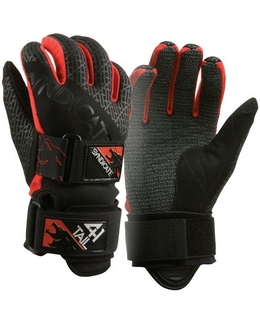 HO 41 Tail Water Ski Gloves Kevlar Palm Red 2XL