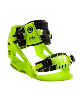 Hyperlite System Low Back Wakeboard Bindings Yellow/Green