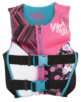 Hyperlite Girl's Youth INDY Life Jacket SMALL 2017 Pink