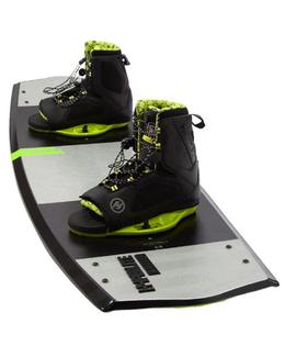 Hyperlite Marek Wakeboard with Team Open Toe Boots