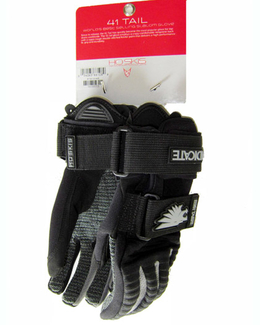 HO 41 Tail Waterski Gloves Gray and Black 2017