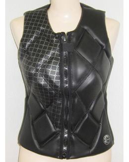 O'Neill Gem Womens Comp Vest Wake Jacket Black 2017