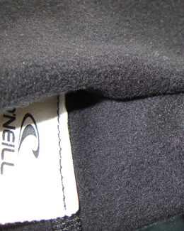 Oneill Fleece Lining inside the Thermo X