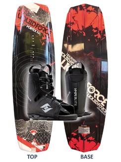 Liquid Force Vortex Wakeboard with Frequency Boots