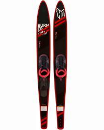 """HO Burner Pro Combo Water Skis 67"""" 2018 w/ FreeMax Bindings"""