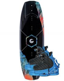 Connelly Surge Kids Wakeboard 2019 with Tyke Boots