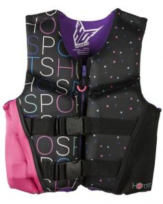 HO Pursuit Girls YOUTH Life Vest 50-90 lbs CGA flex back