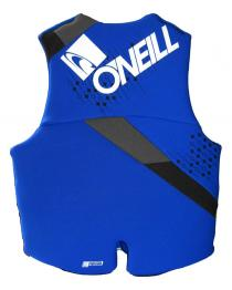 Oneill Teen Neoprene Life Vest 90-120 lbs 2018 Blue  (Youth LARGE)