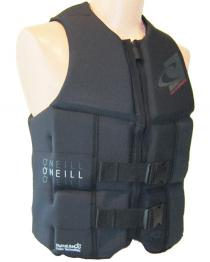 ONeill Assault Mens Neoprene Life Vest Black 2019