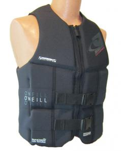 ONeill Assault LS Mens Neoprene Life Vest Black 2018