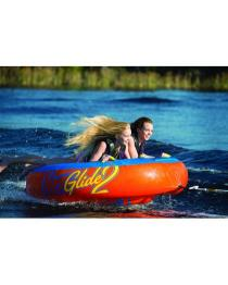 HO Glide 2 Towable Tube with inflatable bladder