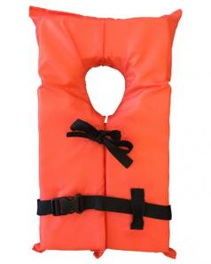 AK1 Type II Nylon Youth Life Jacket USCGA