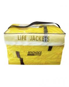 Seachoice 4 Pack of Life Jackets Yellow + Carrying Bag