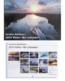 "Gordon Rathbun's 2018 Water Ski Calendar 10"" x 14"""