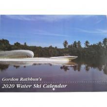 "Gordon Rathbuns 2020 Water Ski Calendar 10"" x 14"" Front"