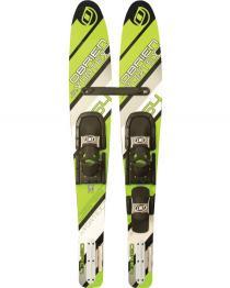Obrien Jr. Vortex Combo Water Skis w/ 600 Bindings 2016