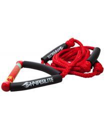 Hyperlite Wakesurfer Rope Red
