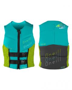 ONeill Outlaw Womens Comp Vest Wake Jacket 2016