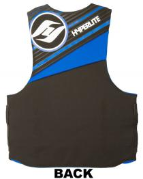 Hyperlite TALL neorene life jacket Back 2017