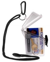 Witz See It Safe Waterproof Transparent ID Badge Case