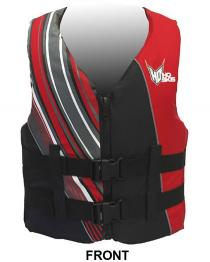 HO Infinite Oversized Life Vest fits Big Guys Red Front