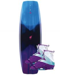 Connelly Wild Child Womens Wakeboard 2019 with Karma Boots