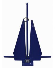 Greenfield Vinyl Covered Slip-Ring Anchor Blue