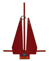 Greenfield Vinyl Covered Slip-Ring Anchor Red