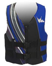 HO Infinite Mens Nylon Life Vest BLUE Closeout
