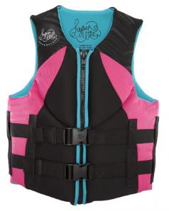 Hyperlite INDY Womens Pink/Aqua CGA Life Jacket 2017 Closeout