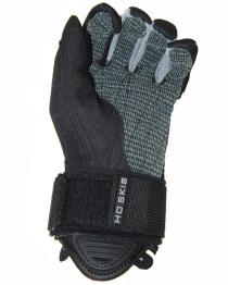 HO 41 Tail Waterski Gloves Gray and Black Palm 2017