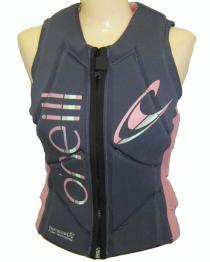 O'neill Slasher Womens Comp Vest 2017 Rose
